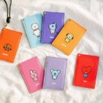 BT21 OFFICIAL CARD WALLET WITH LANYARD
