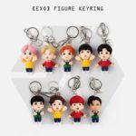 EXO OFFICIAL FIGURE KEYRING