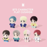 BTS POP UP : HOUSE OF BTS OFFICIAL CHARACTER FLAT CUSHION