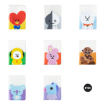 BT21 OFFICIAL PASSPORT CASE