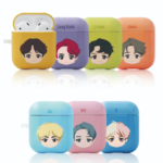BTS CHARACTER HARD AIRPODS CASE