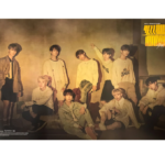 STRAY KIDS CLE 2 YELLOW WOOD REGULAR VERSIONOFFICIAL POSTER (VER 1)