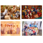 BTS LOVE YOURSELF HER OFFICIAL POSTER (4 POSTER SET)