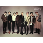 ATEEZ 4TH MINI ALBUM TREASURE EPILOGUE ACTION TO ANSWER OFFICIAL DOUBLE SIDED POSTER (RED VERSION)