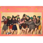 TWICE MERRY&HAPPY 1ST ALBUM REPACKAGE OFFICIAL POSTER (HAPPY VER)