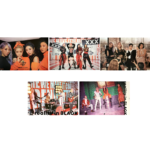 MAMAMOO 2ND ALBUM REALITY IN BLACK OFFICIAL POSTERS (5 POSTER SET)