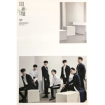 GOT7 CALL MY NAME MINI ALBUM OFFICIAL POSTER (VER D)
