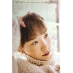 TAEYEON PURPOSE 2ND REPACKAGE ALBUM KIT OFFICIAL POSTER