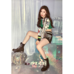 ITZY ITZ ICY OFFICIAL POSTER (CHAERYEONG)