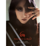 MAMAMOO MOONBYUL DARK SIDE OF THE MOON 2ND SOLO ALBUM OFFICIAL POSTER (VER 2)