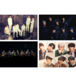 BTS MAP OF THE SOUL 7 OFFICIAL POSTERS (4 POSTER SET)
