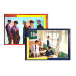 CIX 2ND MINI ALBUM HELLO CHAPTER 2 OFFICIAL POSTERS (2 POSTER SET)
