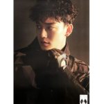 EXO OBSESSION 6TH ALBUMOFFICIAL POSTER (EXO CHEN)