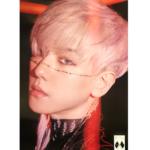 EXO OBSESSION 6TH ALBUMOFFICIAL POSTER (EXO-X BAEKHYUN)