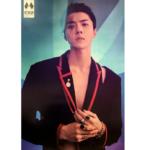 EXO OBSESSION 6TH ALBUMOFFICIAL POSTER (EXO-X SEHUN)
