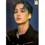 EXO OBSESSION 6TH ALBUM OFFICIAL POSTER OBSESSION VER (EXO KAI)