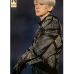 EXO OBSESSION 6TH ALBUM OFFICIAL POSTER OBSESSION VER (EXO BAEKHYUN)