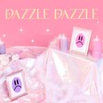 WEKI MEKI DIGITAL SINGLE DAZZLE DAZZLE OFFICIAL MERCHANDISE CONCEPT POSTCARD BOOK