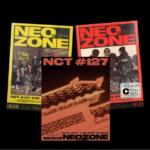 NCT 127 NEO ZONE 2ND ALBUM 3 ALBUMS SET (VER N, C, T)