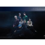VICTON CONTINUOUS 6TH MINI ALBUM OFFICIAL POSTER (BLUE VER)