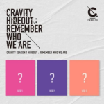 CRAVITY SEASON 1 HIDEOUT REMEMBER WHO WE ARE 3 ALBUMS SET