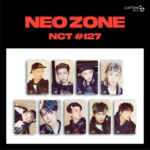 NCT #127 NEO ZONE TRANSPORTATION CASHBEE CARD 9 MEMBER SET
