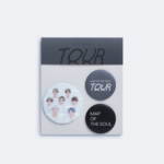 BTS OFFICIAL MAP OF THE SOUL TOUR CAN BADGE SET