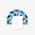 BTS OFFICIAL THE WING TOUR POSTAGE STAMP SEAL SET