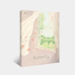 BTS OFFICIAL BUTTERFLY GRAPHIC LYRICS VOL 5