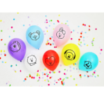 BT21 OFFICIAL PARTY BALLOONS