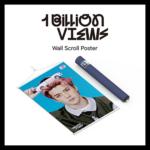 EXO SC 1 BILLION VIEWS WALL SCROLL POSTER