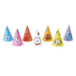 BT21 OFFICIAL PARTY CONE HAT