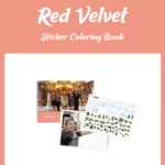 RED VELVET OFFICIAL STICKER COLORING BOOK [PRE]
