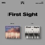 WEI IDENTITY : FIRST SIGHT 1ST MINI ALBUM 2 ALBUMS SET
