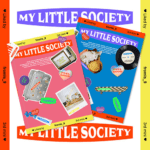 FROMIS9 MY LITTLE SOCIETY  3RD MINI ALBUM 2 ALBUMS SET