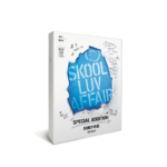BTS SKOOL LUV AFFAIR 2ND MINI ALBUM SPECIAL ADDITION W/ SIGNED FOLDED POSTER