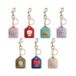 BT21 OFFICIAL BABY METAL LEATHER KEYRING