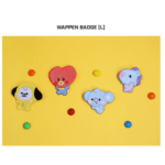BT21 OFFICIAL BABY WAPPEN BADGE (LARGE)