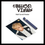 EXO SC 1 BILLION VIEWS WALL SCROLL POSTER B VERSION