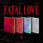 MONSTA X FATAL LOVE 3RD ALBUM 4 ALBUMS SET