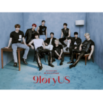 SF9 9LORYUS 8TH MINI ALBUM OFFICIAL POSTER (BLACK CHASER VER)