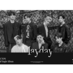VICTON MAYDAY 2ND SINGLE ALBUM OFFICIAL POSTER (M'AIDER VER)