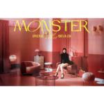 RED VELVET IRENE & SEULGI MONSTER 1ST MINI ALBUM OFFICIAL MIDDLE NOTE POSTER (IRENE)