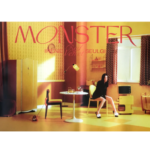 RED VELVET IRENE & SEULGI MONSTER 1ST MINI ALBUM OFFICIAL MIDDLE NOTE POSTER (SEULGI)