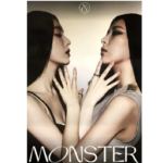 RED VELVET IRENE & SEULGI MONSTER 1ST MINI ALBUM OFFICIAL BASE NOTE POSTER (VER A)