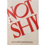 OFFICIAL ITZY NOT SHY STICKER AND POST CARD SET