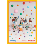 WEEEKLY WE CAN 2ND MINI ALBUM OFFICIAL POSTER (ORB VER)
