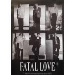 MONSTA X FATAL LOVE 3RD ALBUM OFFICIAL POSTER (VER 4)