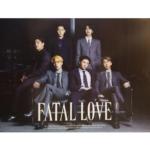 MONSTA X FATAL LOVE 3RD ALBUM OFFICIAL POSTER (VER 2)