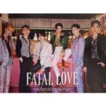 MONSTA X FATAL LOVE 3RD ALBUM OFFICIAL POSTER (VER 1)